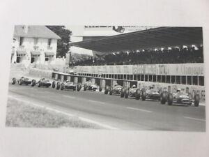 Vintage 1960s Grand Prix Racing Photo Photograph Image - Jos Reinhard