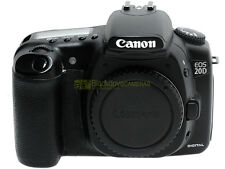 Canon EOS 20D reflex digitale semiprofessionale. Garanzia 12 mesi.