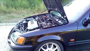 Bonnet Gas Strut lifter kit for Honda Civic MA MB MB6 95-01