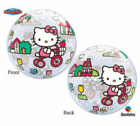 Hello Kitty Birthday Bubble Foil Balloon 22""