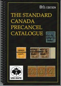 """Standard Canada Precancel Catalogue"" 2021 - NEW & REVISED 8th Ed.  List $22.95"