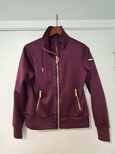 Equestrian Stockholm Training Jacket Purple Gold - Small - Perfect Condition