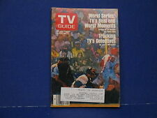 1982 TV Guide, October 9-15 World Series TV's Best Moments And Worst Moments