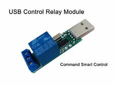 USB Relay Module Computer PC Command Smart Control Relais Switch Controller