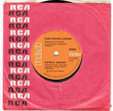 """PURE PRAIRIE LEAGUE - SISTER'S KEEPER - RARE 7"""" 45 VINYL RECORD - 1976"""