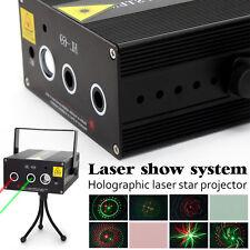 DJ Mini LED Party Laser Licht Disko Projektor Lasereffekt Stage Show Bar Lampe