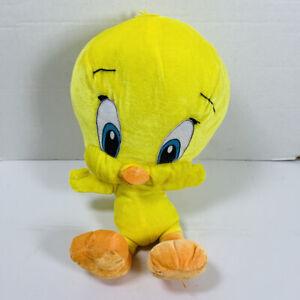 Warner Bros. LOONEY TUNES TWEETY BIRD Stuffed Animal PLUSH CHARACTER TOY Cute