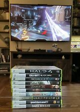 Lot Of 10 xbox 360 games Halo 4 Call Of Duty Grand Theft Auto FallOut 3