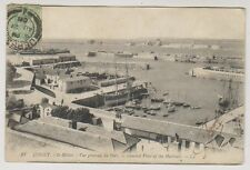 Jersey postcard - St Helier - General View of the Harbour - LL 21 - P/U 1908