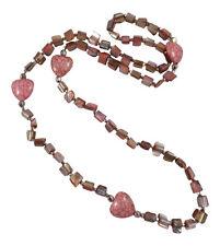 Markenlose Modeschmuck-Halsketten mit Perlen und Herz-Schliffform