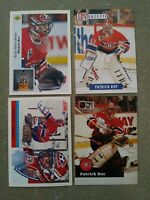 Patrick Roy lot of 153 cards, Montreal Canadiens