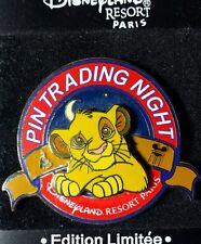 Simba The Lion King Paris Pin Trading Night Disney Pin LE 400 OC DLRP RARE DLP