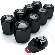 Auto Ventilkappen Ventil Radmarkierung 8 Stück im Bucket-Black-Look CAREApro