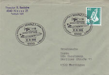 West Germany 1980 Mainz Exhibition Aviation Yesterday and Today Cover VGC