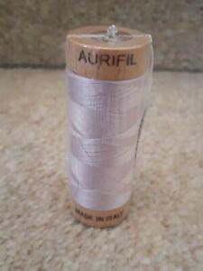 aurifil cotton MT280 2510  mako ne80 2es small spools 109yds/100m pink