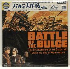 BATTLE OF THE BULGE Japanese Laserdisc Warner Bros New and Sealed