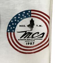 T-shirt MARLBORO CLASSICS MCS uomo in cotone stampa bianco limited edition