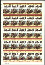 "1872 LB&SCR Terrier Class ""Fenchurch"" 0-6-0 Imperf/Imperforate Train Stamp Sheet"