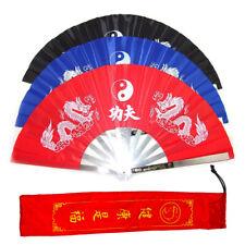 Tai Chi Stahlfächer Kampfkunst Kung Fu Handheld Falten Tanzen Rostfreier Stahl