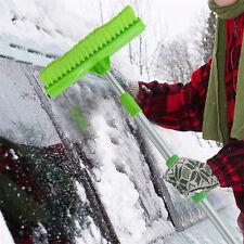 Telescopic Ice Snow Scraper Auto Car Window Extendable Shovel Removal Brush NEW