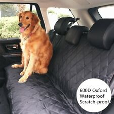 Pet Dog Waterproof Back Rear Seat Bench Mat Cover For Trucks-Auto-SUVs-Vans Car