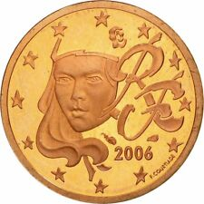 [#583590] France, 2 Euro Cent, 2006, FDC, Copper Plated Steel, KM:1283