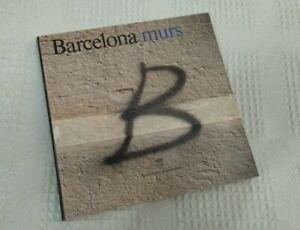 BARCELONA MURS 1991- very rare first spanish graffiti book buch livre magazine