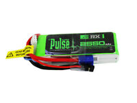 PULSE 2550mAh 2S 7.4V 15C - Receiver Battery - LiPo Battery