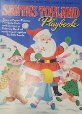 Vnt 1950s Santa's Christmas Toyland Paper Doll Hd Lasr Reproductin Top Sel Lopr