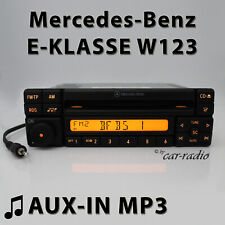 Mercedes Special MF2297 Aux-In MP3 W123 Radio Cd-R E-Class Jack RDS Car Radio