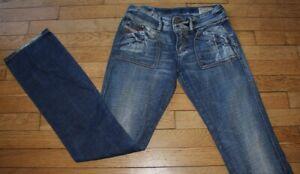 DIESEL Jeans pour Femme W 28 - L 34 Taille Fr 38 RECKFLY (Réf #O213)