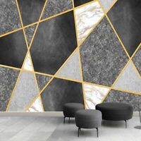 3D Photo Wallpaper Modern Simple Geometry Straw Textured Wall Decor