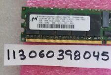 2GB PC2 PC DDR2 DDR PC2-3200R DDR2-400 3200 400 240PIN RDIMM ECC-REG 256X4 1RX4