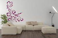 Corner Pattern Wall Sticker  Vinyl Decal Design your Own Quote Wall Art UK