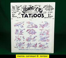 Atomic Era Tat-oos 1953 space age press-on tattoos