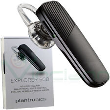Auricolare Bluetooth 4.1 Plantronics EXPLORER 500 per iPhone 6 6s 7 8 X 10 Plus