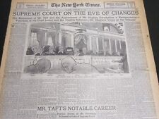 1930 FEB 9 NEW YORK TIMES SPECIAL - SUPREME COURT ON THE EVEN OF CHANGE- NT 7000