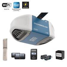 1 1/4 HP Garage Door Opener Belt Drive Battery Backup Smart Control Ultra Quiet