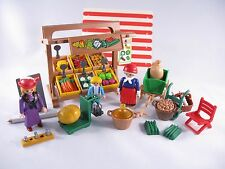 PLAYMOBIL VINTAGE 5341 PRODUCE STAND VICTORIAN MANSION - COLLECTOR - COMPLETE
