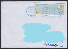 France to Turkey Philatelic Cover ( Plane Airplane ) ( 540 )