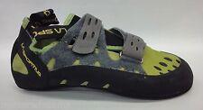 La SPORTIVA Mens Tarantula Climbing Shoes 10c Kiwi/grey Size 41