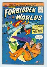 Forbidden Worlds #129 August 1965 G/VG Rocket Cover