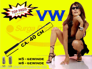 VW Golf 1 2 3 4 5 Plus Tour Varilla Antena Techo 16V M5 M6 40CM Nuevo