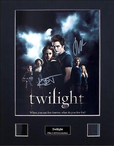 Twilight Saga - Twilight Signed by 2 Version 1 Photo Film Cell Presentation