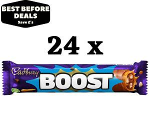 Cadbury's Boost Chocolate Bar - Box Of 24 x 48.5g - BBE 26/08/21