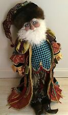 "Katherine's Collection Retired Nicolaus Gregarious 34"" Santa Doll"
