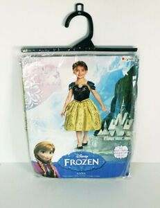 New Disney Frozen Anna Costume 3T-4T XS by Disguise Dress up New In Pkg