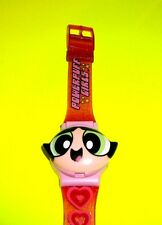 Powerpuff Girls Bubble Buttercup Blossom ARMITRON All 3 Changing Faces Watch
