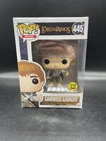 Funko Pop Movies SAMWISE GAMGEE Glow In The Dark Lord Of The Rings #445 Mint!