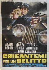 JOY HOUSE LES FELINS Italian 4F movie poster R71 55x79 ALAIN DELON JANE FONDA